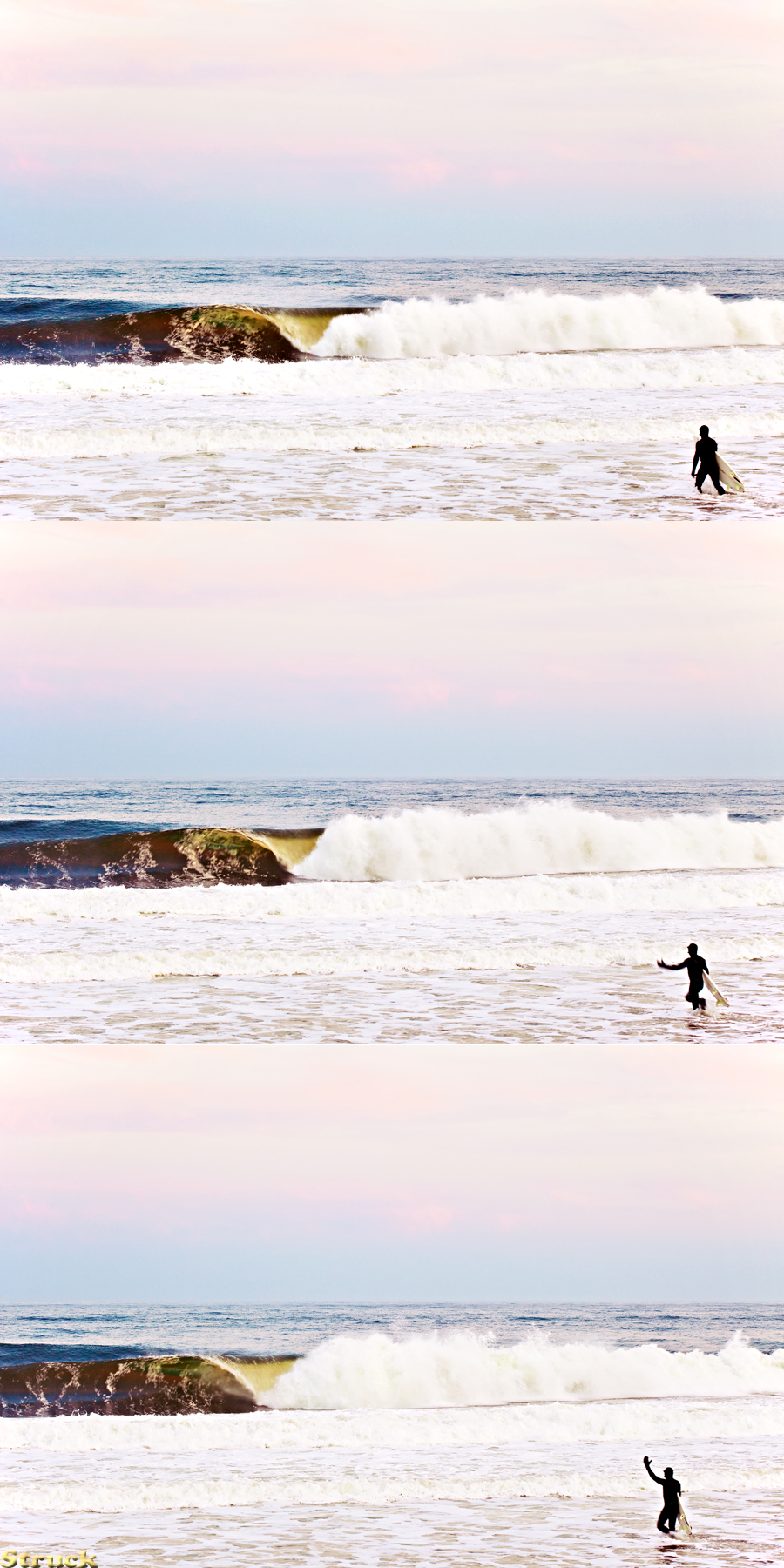 Surf photography in New Jersey.