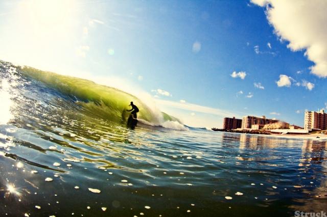 paul raia surfing in new jersey