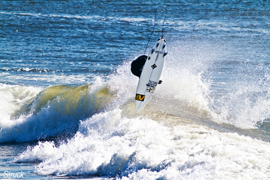 pj paul raia backside air. surf. analog.