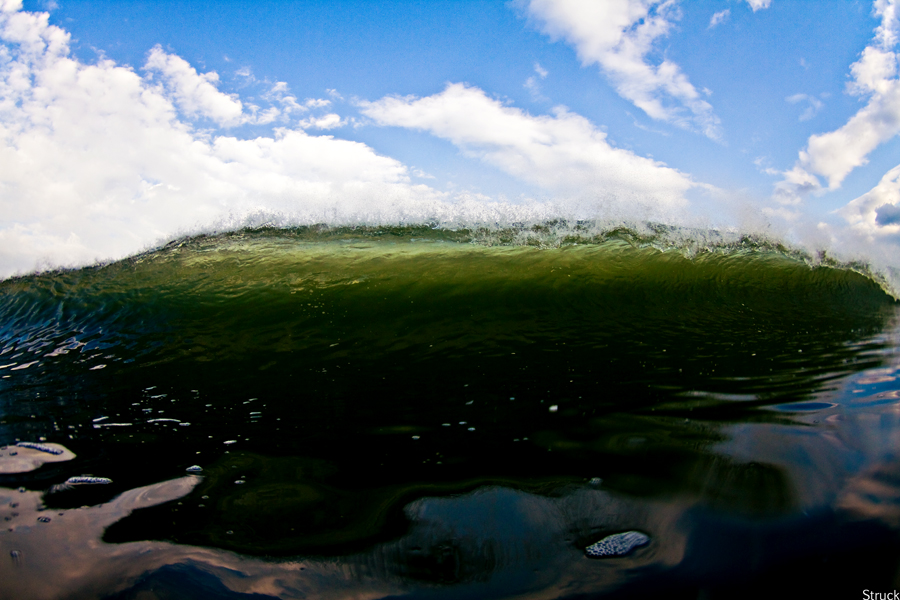 abstract wave photography. nj surf photographer. fisheye water photography. nj surf photographer