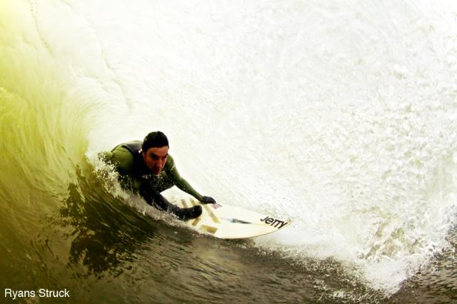 brian parnagian. surf photographer. fisheye photo. barrel shot. tube shot. underwater photography. canon 7d surf. surf photo. new jersey surf photography.
