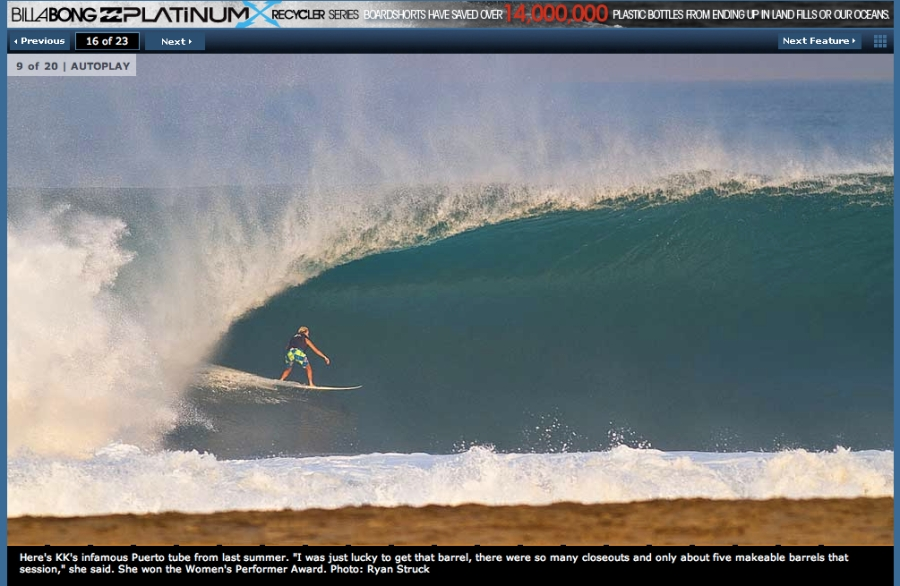 puerto escondido mexico. surfing huge waves. biggest female wave. xxl awards. pacific ocean. mexico surf travel.