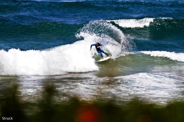 north carolina surfer. michael powell. salt creek california.