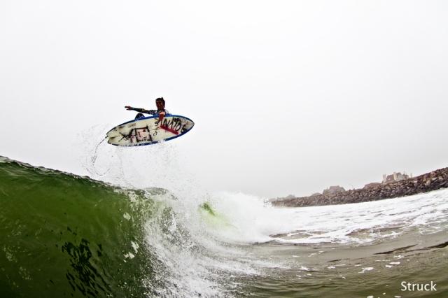 pj raia. paul raia. analog surf. slob grab. air. surf photography.