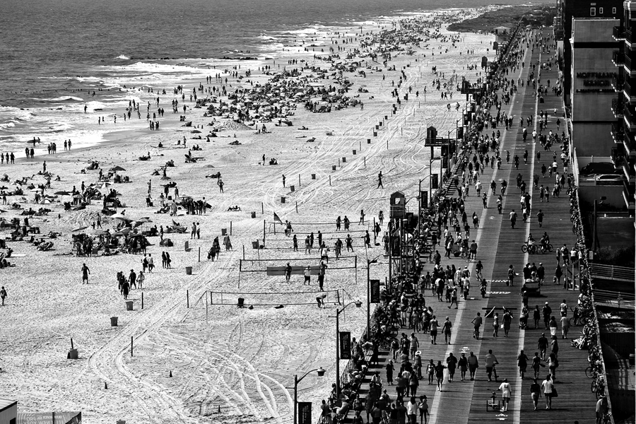 long beach new york. aerial surf contest. beach aerial. new york aerial photo. long beach new york photo. boardwalk photo.