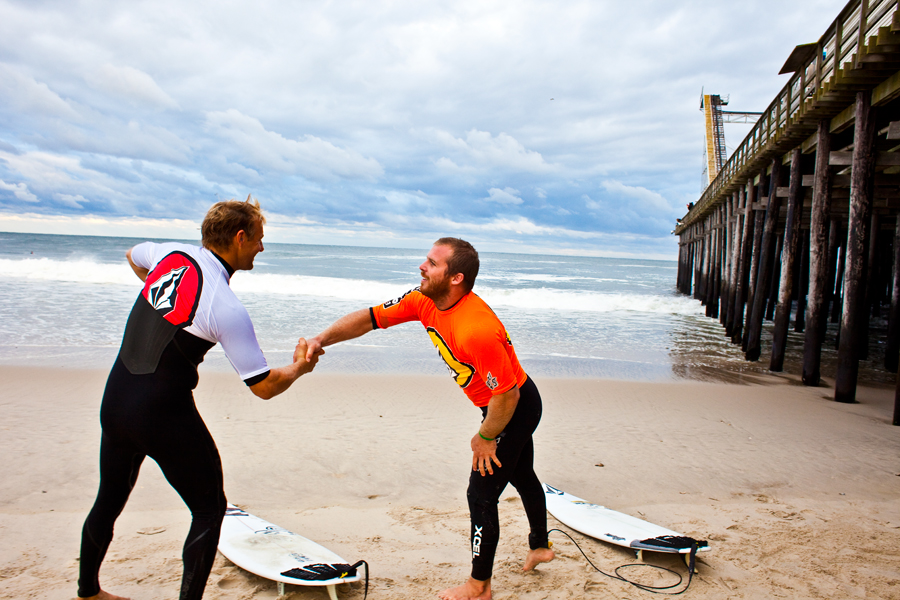 sam hammer. mike gleason. billabong. volcom. casino pier.