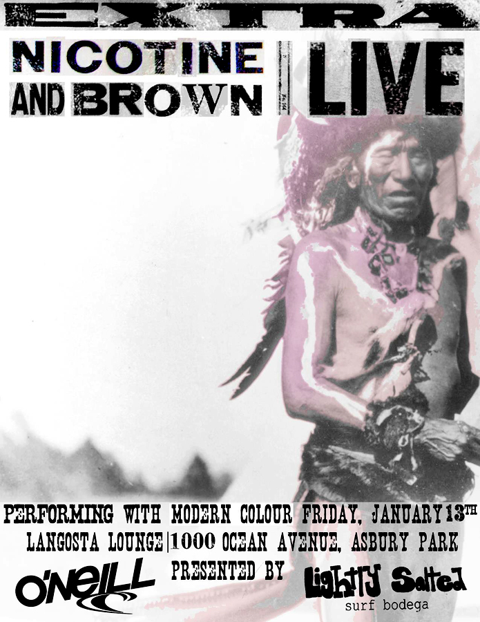 asbury park. music show. langosta lounge. nicotine and brown. brian parnagian.