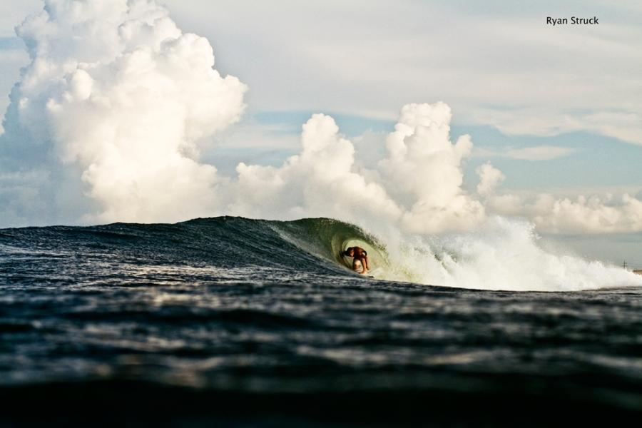 hurricane leslie. hurricane surf photo. surf photographer. north carolina. weather photography.