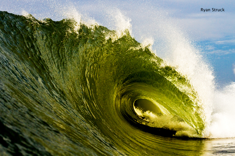 hurricane leslie. #hurricaneleslie. outer banks. obx. surf photography. picture of a wave. inside a wave. tube shot. empty wave. fine art. big wave.