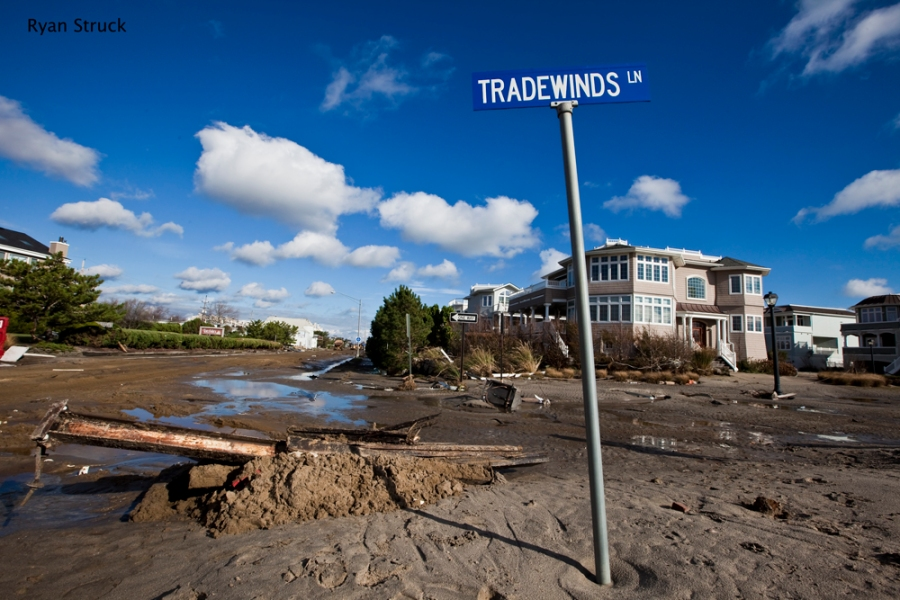 tradewinds. sea bright. new jersey. beach club. hurricane sandy. aftermath. damage. photos. destruction.