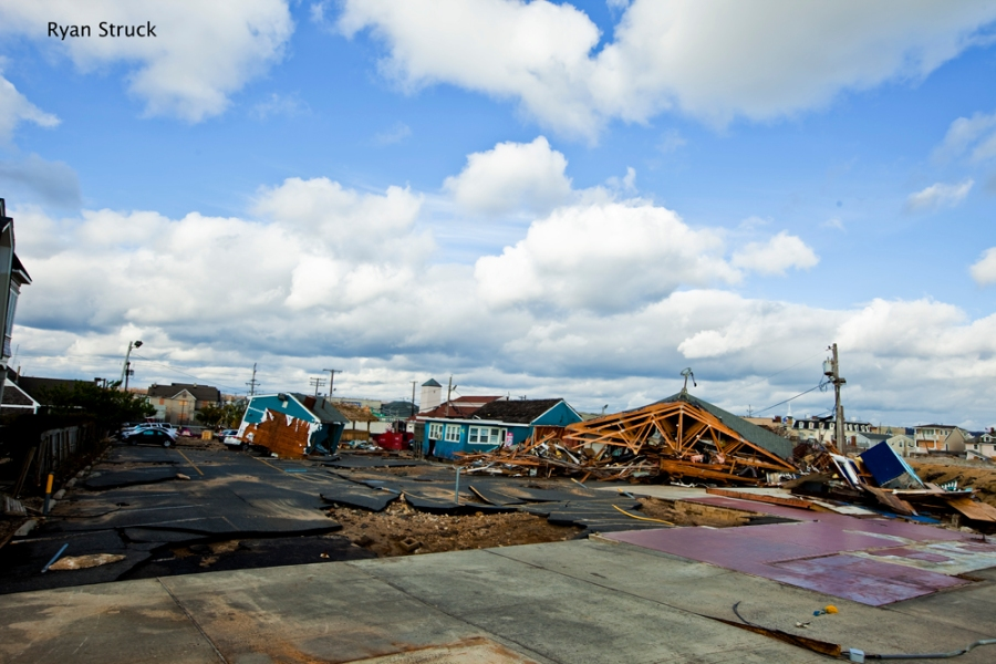 donovan's. sea bright. beach bar. tiki bar. hurricane sandy. destruction. photos.