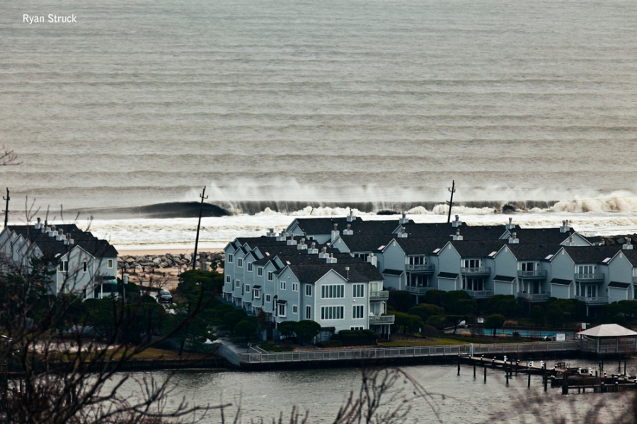 sea bright. new jersey surf. surf photos. jersey shore. waves in new jersey. line up shot. aerial photography. surf photographer. monmouth county. big waves. doomsday. december. 2012.