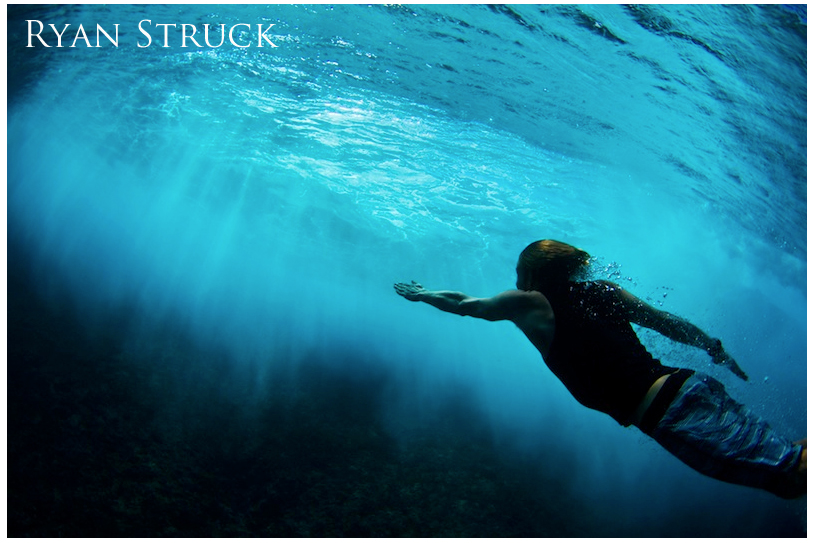 underwater. body surfing photo. underwater photographer. tahiti. clear waters. underwater action photo. travel photo. destination photo.