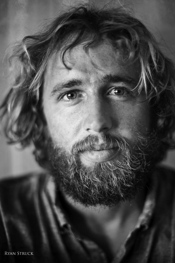 rob brown. portrait. black and white surf. surf photograper. surf portrait photographer. north carolina. tahiti. teahupoo.