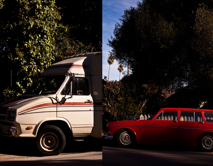 camper van. old cars. vintage cars. california. san Francisco