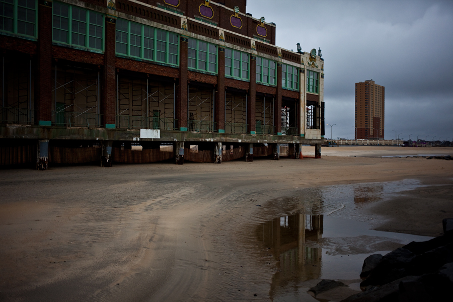instagram photographer. asbury park. convention hall. historical beach town. noreaster. november 2013. thanksgiving day swell. east coast. new jersey. jersey shore. new jersey photographer.