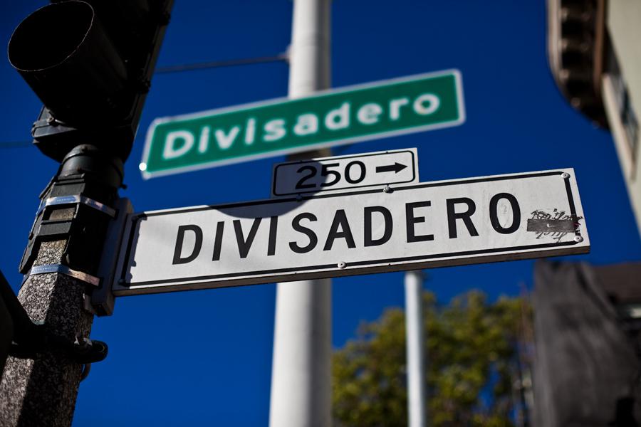 divisadero. storefront. architecture. california. san Francisco. travel photography.