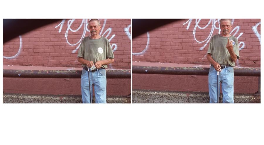 street photo. urban. graffiti. new jersey. middle finger. funny