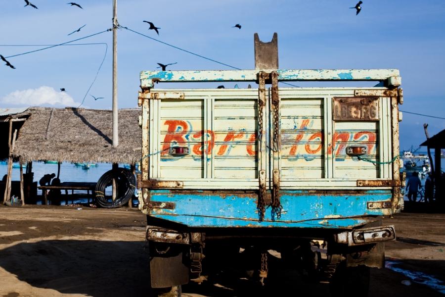 fishing truck