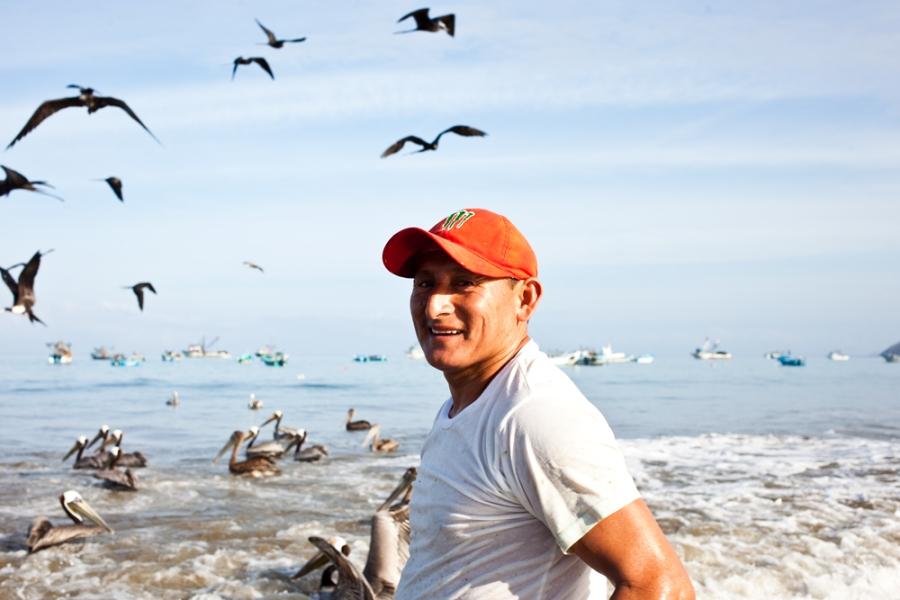 fisherman's portrait