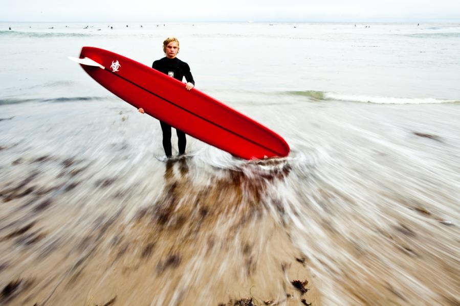 surf portrait
